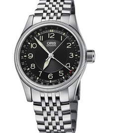 Oris Aviation Big Crown date