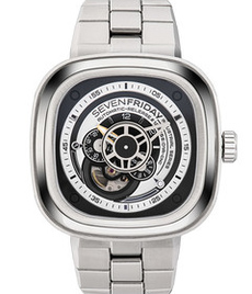 Sevenfriday P1B/01M Essentials steel bracelet