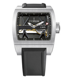 Corum Ti-Bridge 3 day titanium 52mm