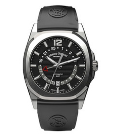Armand Nicolet J09 GMT steel 41 mm