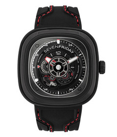 Sevenfriday-P3C/02  steel case