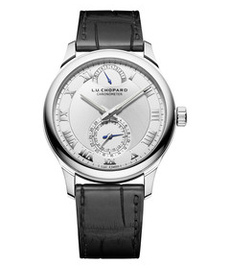 Часы Chopard L.U.C Quattro 18K White Gold 43mm