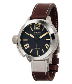 U-boat Classico Tungsteno 50mm with black dial