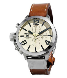 U-boat Classico Tungsteno 50mm chrono white dial