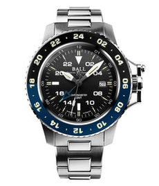 Ball Engineer Hydrocarbon Aero GMT II steel 42mm