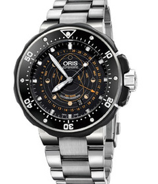 Oris Prodiver Pointer Moon 49 mm titanium