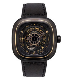 Sevenfriday-P2/02 47mm black steel case