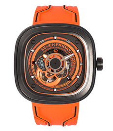 Sevenfriday-P3/07 Kuka 3 black steel case
