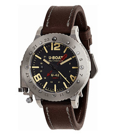 U-boat U 42 50mm gmt titanium