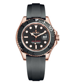 Rolex Yaсht-Master rose gold with black dial 40mm