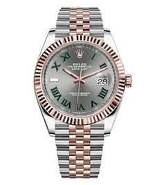 Rolex Datejust steel and rose gold 41mm