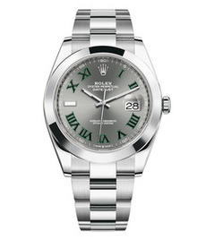 Rolex Datejust steel with gray dial 41mm