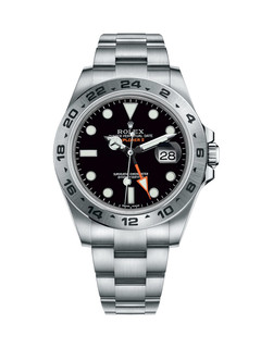 Rolex Explorer II steel with black dial 42mm