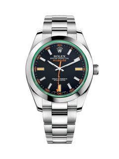 Rolex Milgauss steel with black dial 40mm