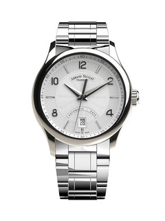 Armand Nicolet M02-4 Date steel 43 mm