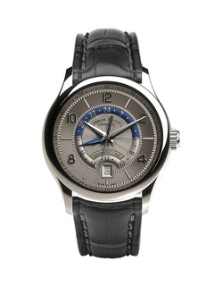 Armand Nicolet M02-4 Date and GMT steel 43 mm