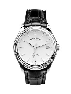 Armand Nicolet L15 Date steel 39mm