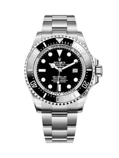 Rolex Deepsea steel with black dial
