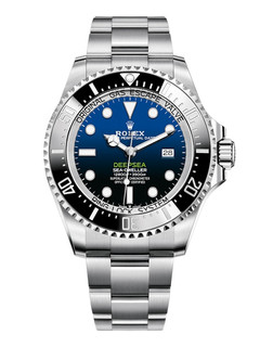 Rolex Deepsea steel with blue dial
