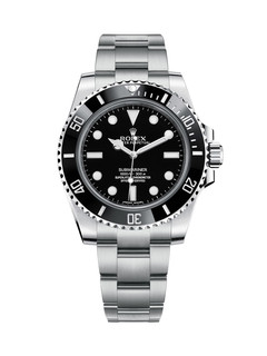 Rolex Submariner no date steel with black dial