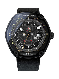Dietrich DD-1 steel cases PVD