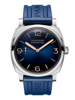 Panerai Radiomir 1940 3 days 47mm steel with blue dial