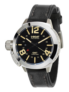 U-boat Classico gmt 45mm with black dial