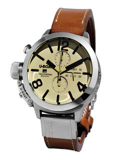 U-boat Classico Tungsteno 45mm chrono white dial