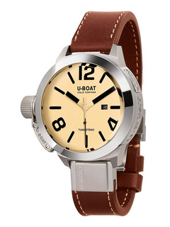 U-boat Classico Tungsteno 50mm with white dial