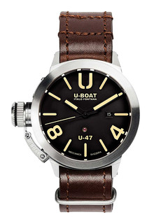 U-boat Classico U-47 steel with black dial