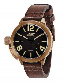 U-boat Classico 45mm Bronzo with black dial