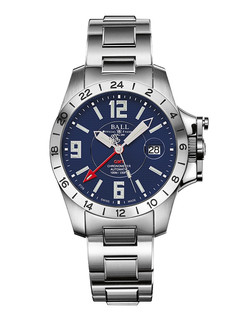 Ball Engineer Hydrocarbon Magnate GMT with blue dial