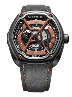 Dietrich organic time steel with bronze dial