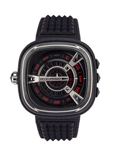 Sevenfriday-M1/04 Punk black steel case