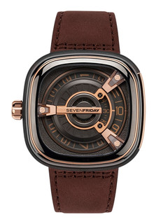 Sevenfriday-M2/02 Revolution black steel case
