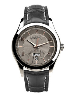 Armand Nicolet M02 Day Date steel 43 mm