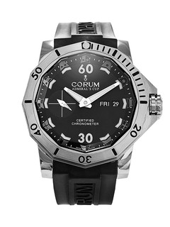 Corum Admiral's Cup day date titanium 46mm