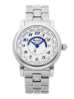Montblanc Star World Time GMT Steel 42 mm