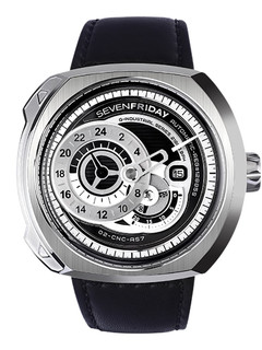Sevenfriday-Q1/01 Essence steel case