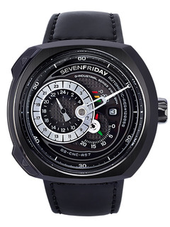 Sevenfriday-Q3/01 black steel case