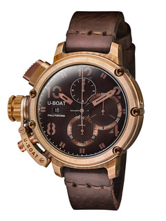 U-boat Chimera 46mm Bronze Chrono