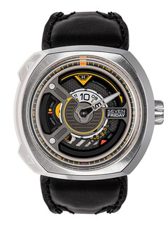 Sevenfriday W1/01 Blade steel case