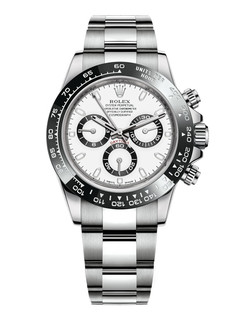 Rolex Daytona steel with white dial