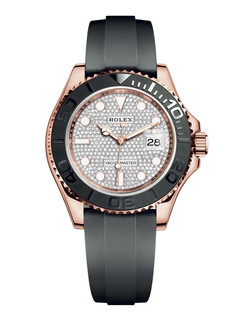 Rolex Yaсht-Master rose gold with diamond dial 40mm
